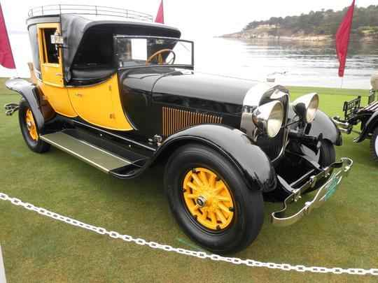 Lincoln 1927 Judkins Coaching Brougham
