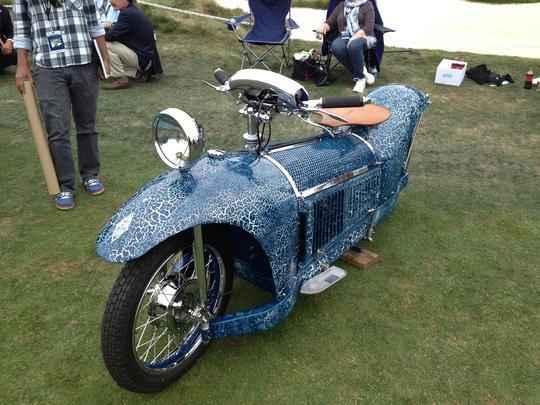Moto francesa Majestic 1929