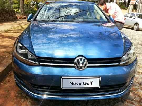 Novo Golf Highline 1.4 é exibido na Casa Cor em Belo Horizonte (Foto: Thiago Ventura/EM/D.A Press)
