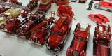 Exposi��o re�ne centenas de miniaturas de ve�culos em Contagem (Foto: Thiago Ventura/EM/D.A Press)