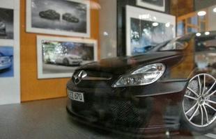 Exposição reúne centenas de miniaturas de veículos em Contagem (Foto: Thiago Ventura/EM/D.A Press)