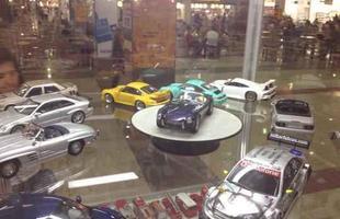 Miniaturas atraem fãs em Shopping da Grande BH (Foto: Wagner Neves/Especial para o Portal Vrum)