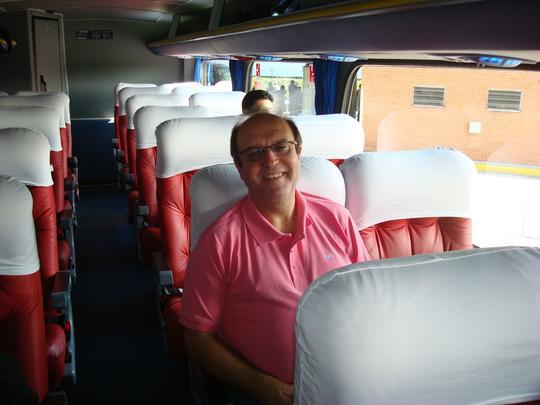Outro passageiro que reviveu lembranças a bordo da última viagem do Flecha Azul é o engenheiro eletricista Francisco Carlos de Araújo, 58 anos, de São Paulo