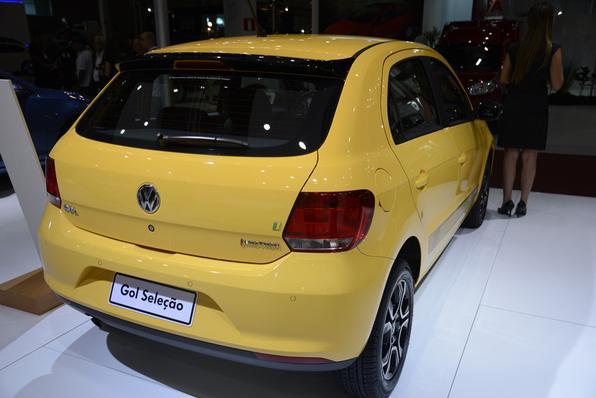 Volkswagen Gol Seleção na Bienal do Automóvel (Thiago Vetnura/EM/D.A Press)