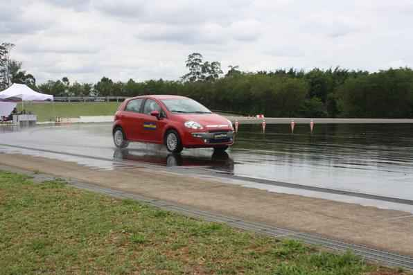 Teste dos novos pneus Goodyear
