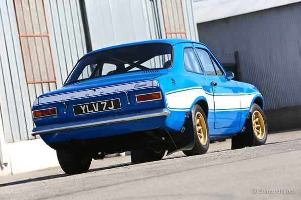 Ford Escort RS2000 1974 - Site Edmunds fez o registro do carro usado no filme Velozes e Furiosos