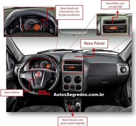 Novo Palio Fire 2014 - Flagras - Autossegredos.com.br/reprodu��o da internet