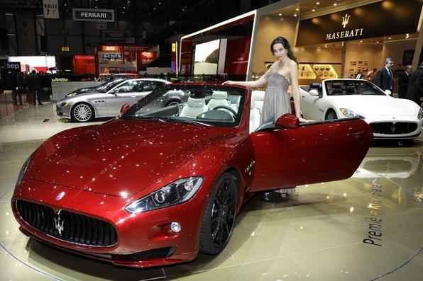 Maserati Gran Turismo/Cabrio (Gasolina) 5,2 km/l na cidade 7,1 km/l na estrada