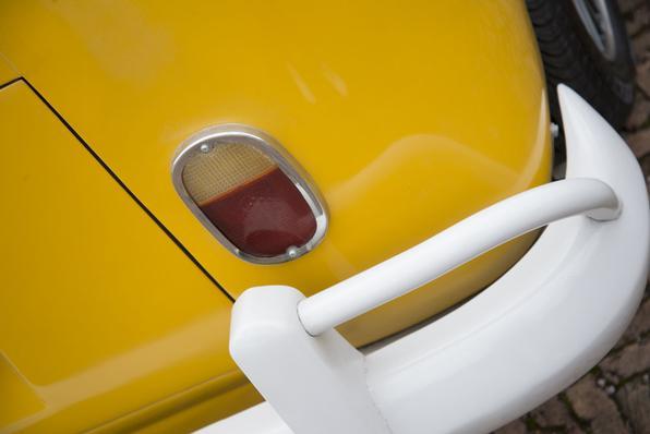 Volkswagen Kombi 1975 'Bárbara' tunning (Foto: Thiago Ventura/EM/D. Press)