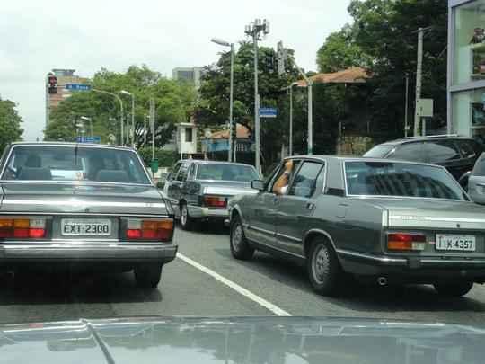 Colecionadores vão viajar pelo Sudeste e Sul para marcar os 40 anos do sedã de luxo fabricado no Brasil entre 1974 e 1986