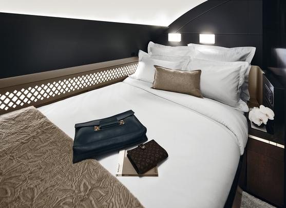 Suite de luxo da Etihad Airways