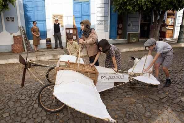 Protótipo usado nas gravações do filme 'O menino no espelho' foi inspirado em aviões do início do século passado, como o Demoiselle