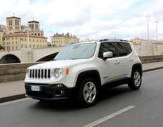 Jeep Renegade Limited 2015 edição europeia