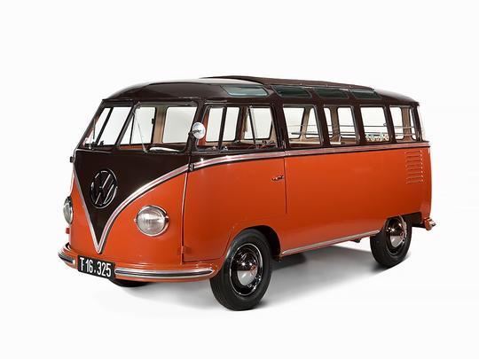 Volkswagen Kombi 1955 foi vendida em um leil�o na Europa por 190 mil euros