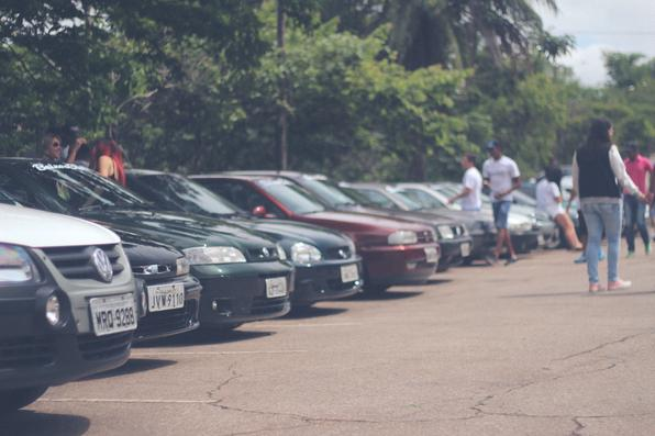 Clubes de carros promoveram encontro solidário de Natal em Belo Horizonte