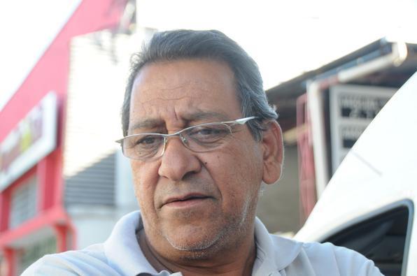 'Não faço isso, mas presto atenção nos dois sinais' - Wellington Paulo Osório, taxista