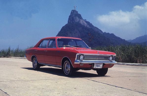 Chevrolet Opala foi lançado em 1968