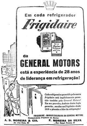 GM já comercializou geladeiras no Brasil