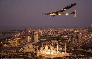 Avião tentará dar a volta ao mundo sem usar gasolina ou diesel