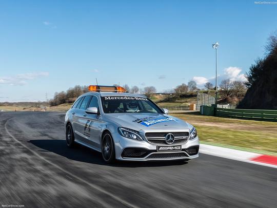 Mercedes-Benz C63 S AMG Estate F1 Medical Car - 2015