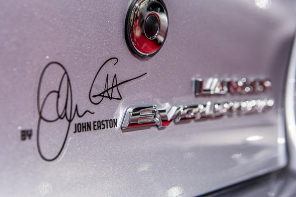 Mitsubishi Lancer Evolution X John Easton - 2015