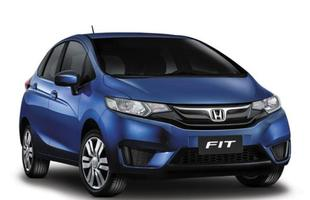 Honda lan�a linha 2016 do Fit com aumento de at� R$ 2 mil
