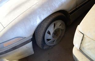 Carros apreendidos aguardam resgate do proprietário ou o próximo leilão
