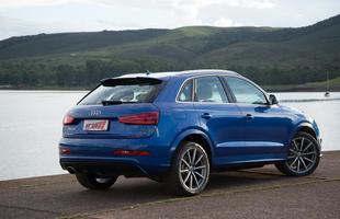 Audi RS Q3 oferece esportividade em carroceria de SUV de luxo. Versão reestilizada deve chegar em breve