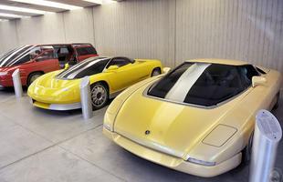 Acervo de veículos do Estúdio Bertone, na Itália