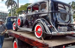 Encontro de Carros Antigos em Sete Lagoas