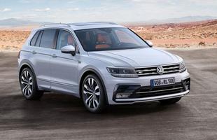 SUV alemão tem quatro opções de motores turbo a gasolina com até 240 cavalos. Volkswagen Tiguan cresceu na distância entre eixos e porta-malas leva 615 litros