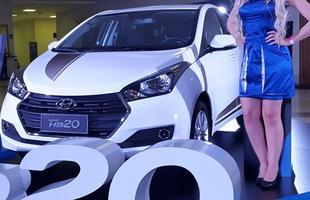 Veja mais fotos da nova versão do Hyundai HB20