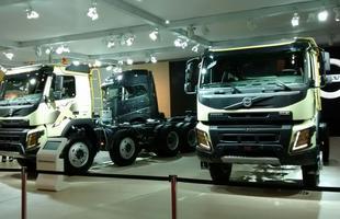 Otimismo, apesar da crise, é o discurso da DAF e da Volvo, únicas duas montadoras que participam do 20º Salão Internacional do Transporte Rodoviários de Carga - Fenatran 2015