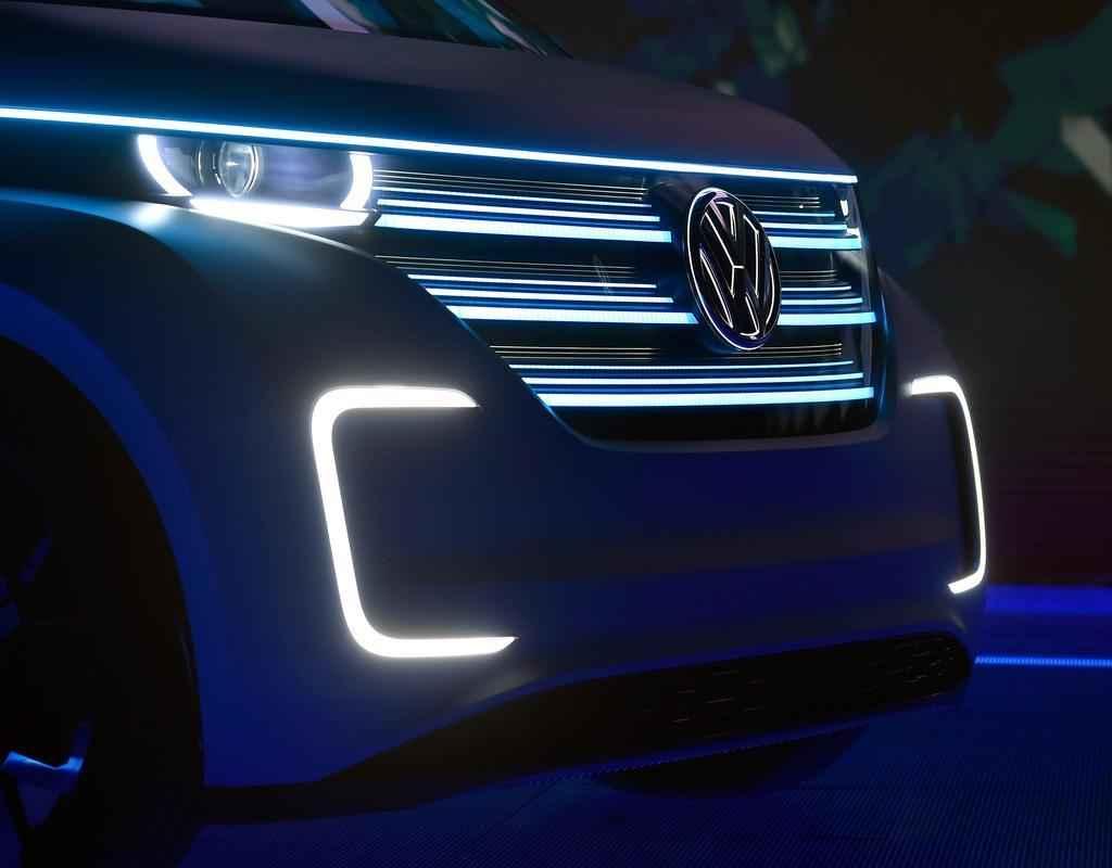 Volkswagen Budd-e no CES em Las Vegas