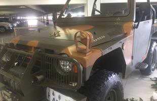 Veja mais fotos dos veículos d 2ª Guerra
