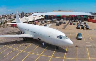Sucata da Vasp terão nova destinação. Empresários mineiros adquiriram as aeronaves em leilões da empresa e pretendem utilizá-las em empreendimentos inusitados