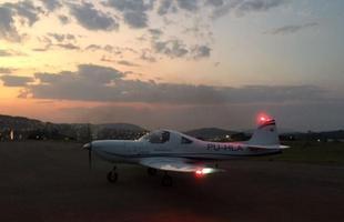 Aeronave já acumula 50 horas de voo, num raio de cerca de 400km