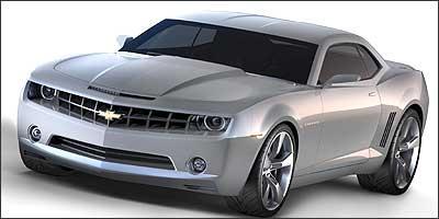 Carro-conceito Camaro foi atração no Salão de Detroit e vem para o Brasil a passeio - GM/Divulgação