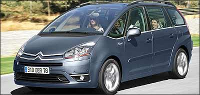 C4 Picasso será lançado ainda em 2006 no mercado nacional - Citroën/Divulgação - 29/9/06