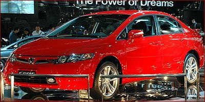 Honda Civic Si tem motor 2.0 e 192 cv de potência - Fotos: Rafael Bozzolla/EM - 10/2006