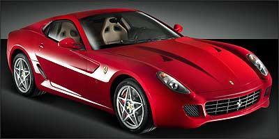 Ferrari 599 GTB Fiorano é um dos modelos mais caros mostrados no evento - Ferrari/Divulgação