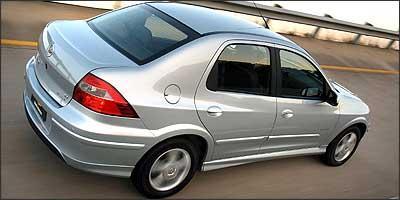 Entre os lançmentos nacionais, o Chevrolet Prisma é um dos mais baratos - Wagner Menezes/GM/Divulgação - 2/10/06