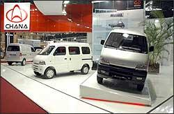 Modelos da chinesa Chana têm motor de 970 cm³, de 53 cv, de origem Suzuki, e preços batante atraentes - Rafael Bozzolla/EM - 10/2006