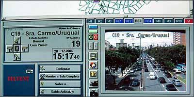 Sistema fornece informações importantes para os controladores - Fotos: Cristina Horta/EM