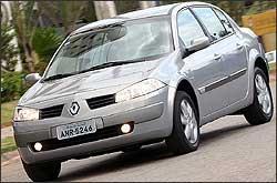 Sedã Renault Mégane é o modelo que tem peças com preço mais baratos. Ford Fusion foi o segundo - Marlos Ney Vidal/EM - 26/5/06