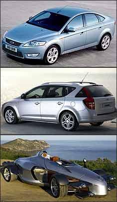 Ford Mondeo, Kia Cee'd Sporty Wagon e Tramontana G-07 - Ford/Divulgação - Kia/Divulgação - Tramontana/Divulgação