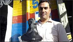 Luiz Henrique levou jogo de calotas e coífa para o Chevrolet Corsa -
