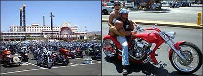 Realizado desde 1983, vento reuniu mais de 70 mil motociclistas, a maioria de modelos Harley-Davidson modificados, além de tipos exóticos que fazem questão de chamar a atenção, com a moto e no visual - Fotos: Téo Mascarenhas/Especial para EM - 6/6/07