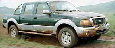 Caminhonete é veículo apropriado para transporte e gera desconforto quando vazia - Marlos Ney Vidal/Em - 16/3/05