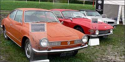 Volkswagen Karmann-Ghia TC, de 1973 / Brasinca Uirapuru, de 1965 / Santa Matilde, de 1984 - Fotos: Boris Feldman/Especial para o EM